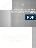 Corporate Image and Personal Selling