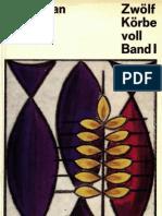 Zwölf Körbe voll - Band 1