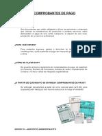 COMPROBANTES DE PAGO - SESION 03
