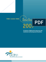 Case for Inclusion Report 2007