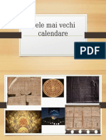 Cele mai vechi calendare.pptx