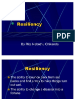 Change Agent Resiliency