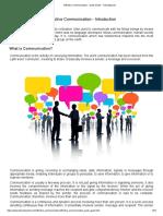 Effective Communication - Quick Guide - Tutorialspoint.pdf