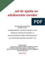 Manual de Ajuda Ao Adolescente Escolar