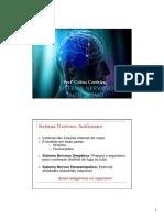 Aula 12 - Sistema Nervoso Autônomo