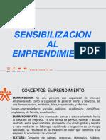 emprendimiento Clase 1 Sensibilizacion