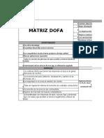 matriz dofa cruzado