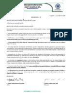 Comunicado 17 - APOYO PARA EL PAGO DE PENSIONES DE ABRIL Y MAYO