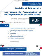 Cdg59 Diaporama Ergonomie Teletravail