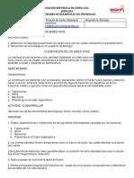 GUIA BIOLOGÍA GRADO SEXTOS CLASIFICACION DE LOS SERES VIVOS MAYO 4 DE 2.020 - TERESITA VELASQUEZ