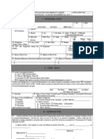 DND - Amnesty Commitee - Application Form