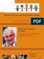 W1-INTERACTION IN A MULTICULTURAL WORLD