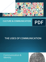 W2-CULTURE AND COMMUNICATION