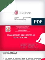 2 Organizacion del sistema de salud peruano 2020-1 salud comunitaria.pdf