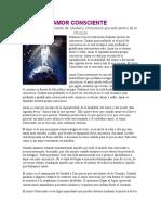 Anonimo - Relatos - Amor Consciente.doc