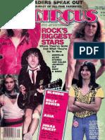 Circus Magazine - July 31, 1982