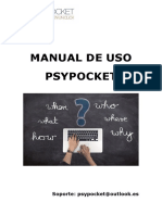 Manual de uso de Psypocket