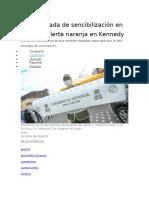 Inicia jornada de sencibilización en UPZ con alerta naranja en Kennedy