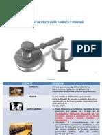 PRIMERA CLASE INTRODUCCION A LA PSICOLOGIA JURIDICA