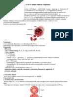 49. A vér és alakos elemei, vérplazma