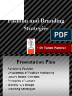 Fashion & Branding Strategies T Panwar