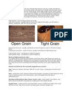 Guitar Building Wood Science
