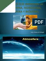 Atmosfera, hidrosfera, litosfera y biosfera.pptx