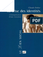 [DUBAR, C.]  La crise des identités.pdf