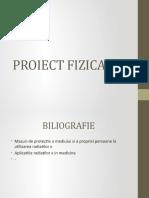 PROIECT FIZICA