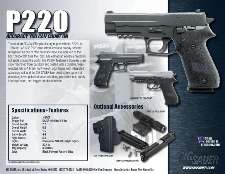 P220R-08-WEB | Projectiles | Weapon Design