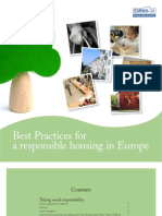 Best Practices for a responsible housing in Europe