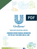 Unilever Pakistan Half Year Report 2009_tcm96-184158