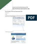Licenciamiento del Sistema Administrativo Profit Plus