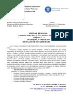 Regulament Seminar docx