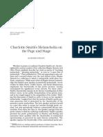 Pratt, K - Charlotte Smiths Melancholia on Page & Stage, (2001) 41 Studies Eng Lit 563.pdf