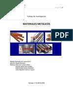 Trabajo 1 Materiales Metalicos 27042020