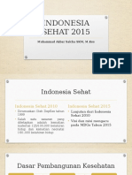 2.Indonesia Sehat