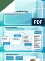 4.Pendekatan Epidemiologi