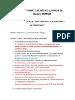 CUESTIONARIO TEMA 2 El Comerciante