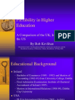 Flexibility in Third Level Education Comparison of USA, UK and Ireland