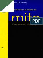 Christoph Jamme - Introducción a la filosofía del mito en la Época moderna y contemporânea.pdf