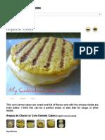 My Colombian Cocina - Arepas de Choclo
