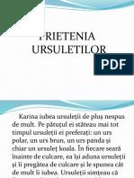 PRIETENIA URSULETILOR.ppsx