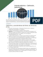 Factor de Demanda eléctric1