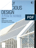 Energy Conscious Design - A Primer for Architects [Book on Green Building Design]