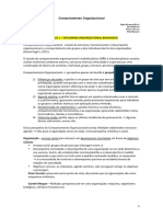 Comportamento Organizacional - Resumos (1).pdf