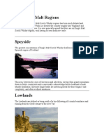 The Single Malt Regions