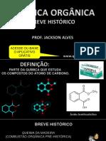 Química Orgânica - Histórico Aula 01 Ok
