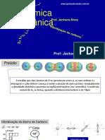Química Orgânica - Hibridização do átomo de Carbono OK