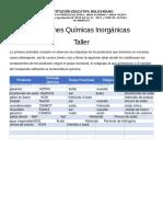 001 Funciones Quimicas Inorganicas - taller.pdf